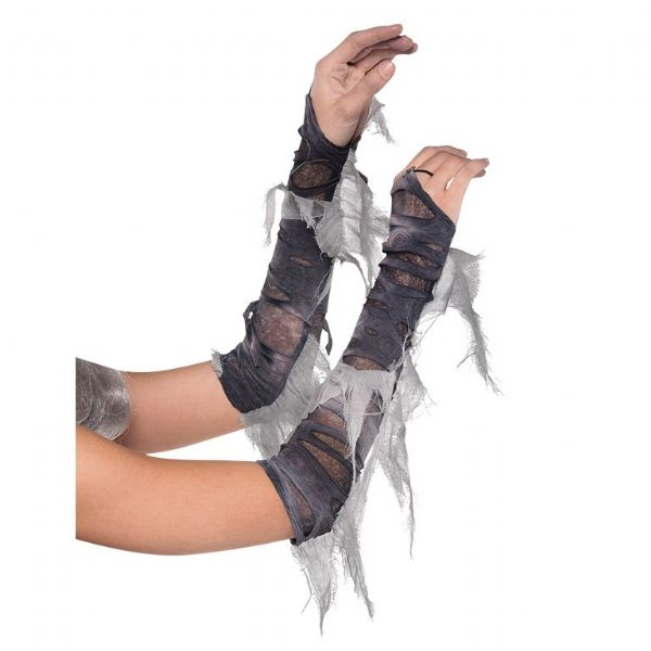 Arm Warmers Zombie Halloween Fancy Dress Outfit Accessory